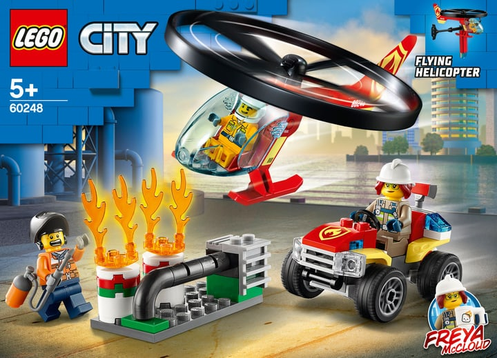 LEGO CITY 60248 Fire Helicopter R 748728500000 Photo no. 1