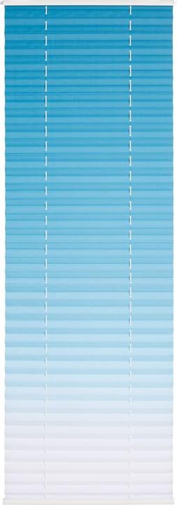 HORIZON Store plissé 430747208041 Couleur Bleu clair Dimensions L: 80.0 cm x H: 160.0 cm Photo no. 1