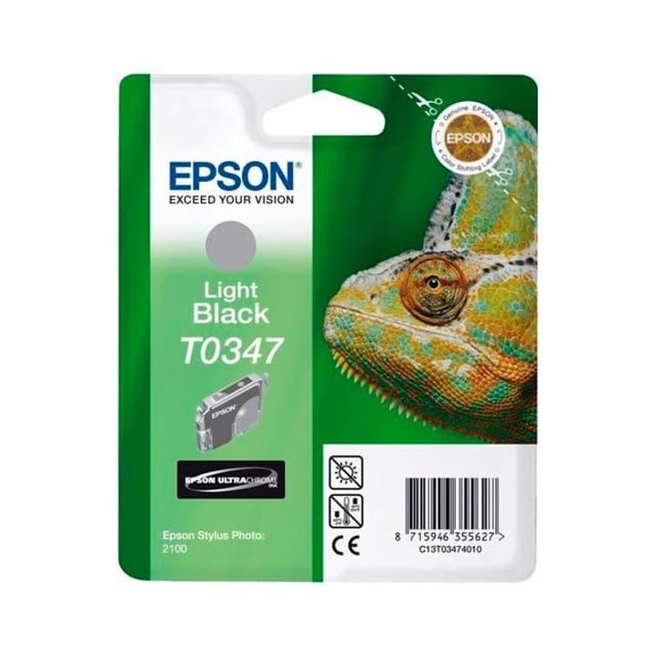T0347 Ultra Chrome cartuccia d'inchiostro nero chiaro Epson 785300124948 N. figura 1