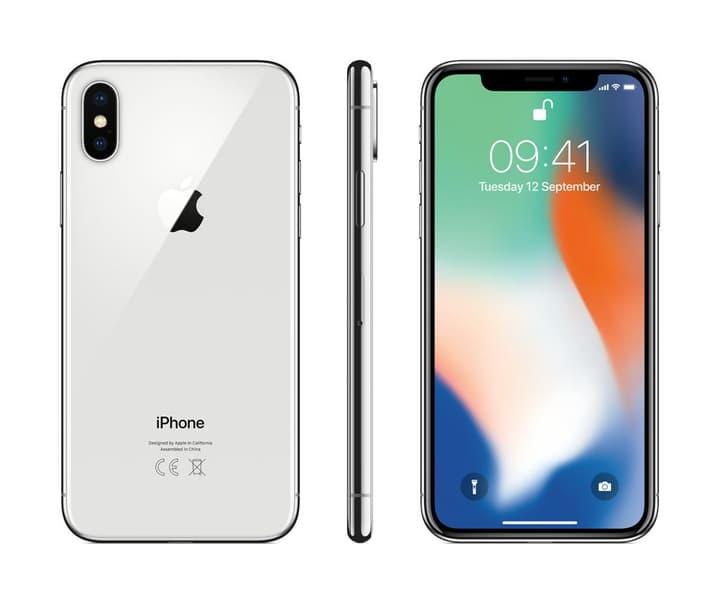 iPhone X 64GB Silver Apple 794625300000 Photo no. 1