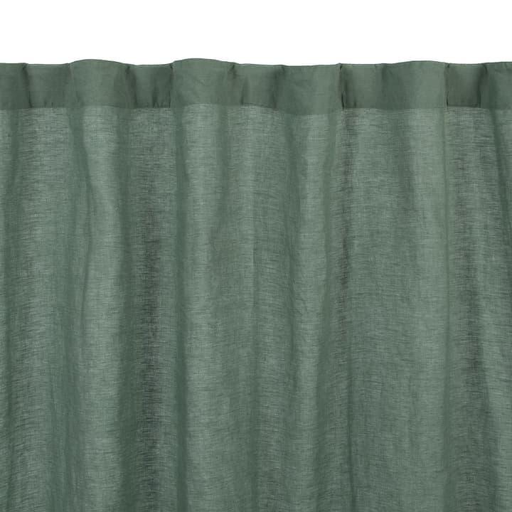 LILIT Rideau prêt à poser 372077500000 Dimensions L: 140.0 cm x H: 250.0 cm Couleur Vert Photo no. 1