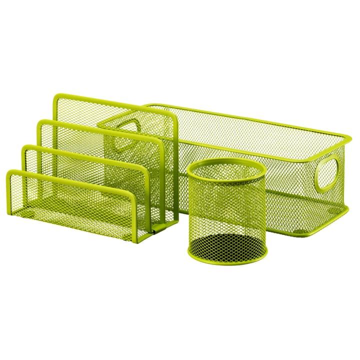 MESH Set per ufficio 3 pezzi 440632400360 Colore Verde Dimensioni L: 28.0 cm x P: 9.0 cm x A: 13.5 cm N. figura 1