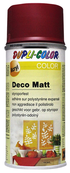 Vernice spray deco opaco Dupli-Color 664810012001 Colore Rubino N. figura 1