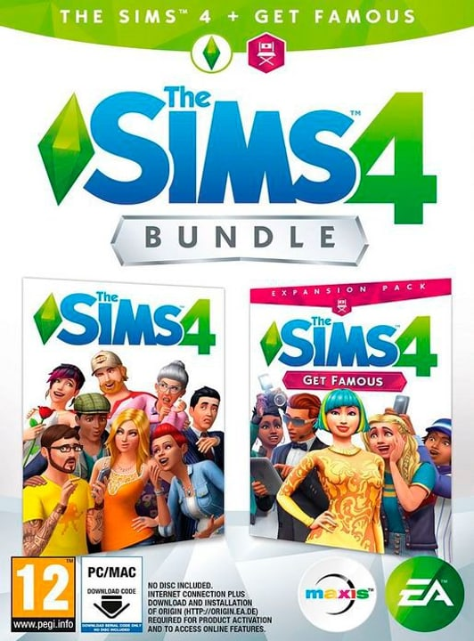 PC - The Sims 4 Get Famous Bundle Box 785300139896 Bild Nr. 1