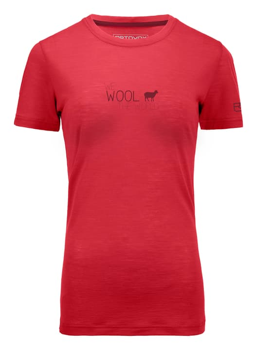 Cool World T-shirt à manches courtes pour femme Ortovox 462782500457 Couleur corail Taille M Photo no. 1