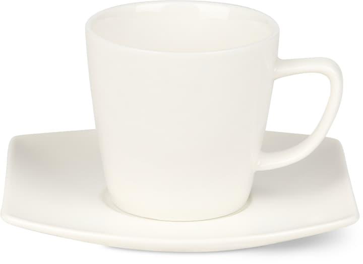 FINE LINE Tazzina da caffè con piattino Cucina & Tavola 700160800001 Colore Bianco Dimensioni L: 11.5 cm x A: 7.5 cm N. figura 1