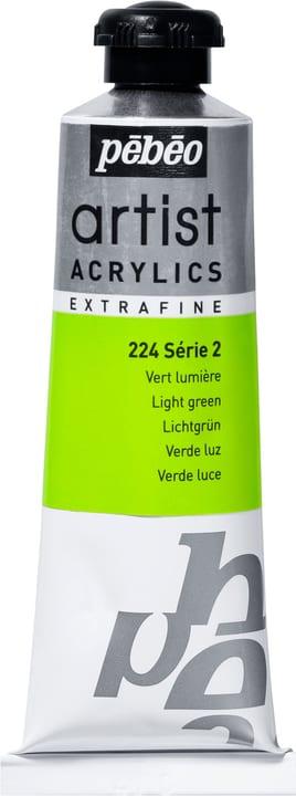 Pébéo Acrylic Extrafine Pebeo 663509022400 Couleur Vert Lumière Photo no. 1
