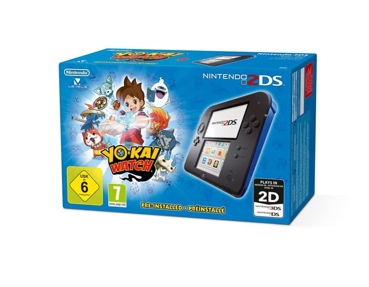 2DS Black-Blue inkl. Yo-Kai Watch Nintendo 785434900000 Bild Nr. 1