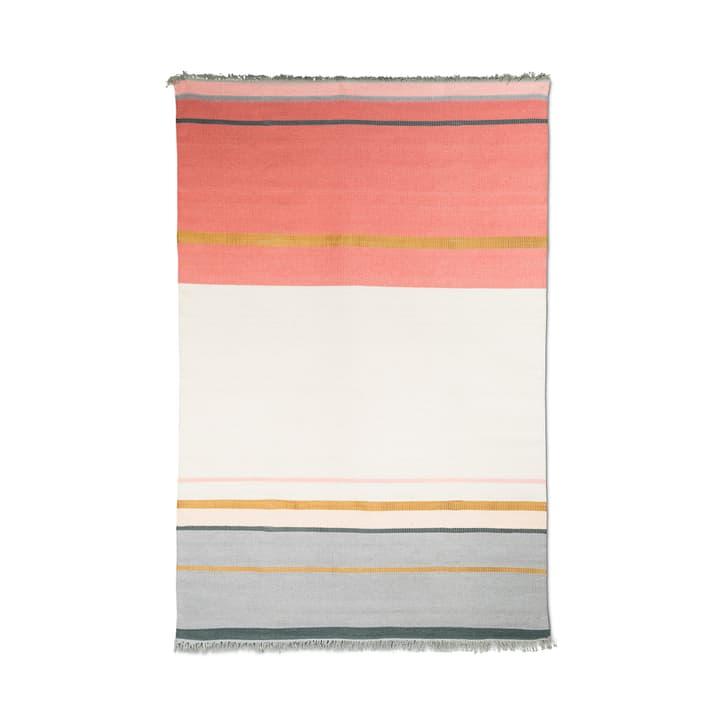 METALLUM Tappeto 371024900000 Colore Rosso Dimensioni L: 200.0 cm x P: 140.0 cm N. figura 1