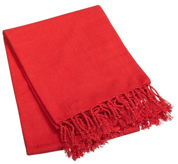 Decke 753326200030 Grösse L: 170.0 cm x B: 130.0 cm x T:  x H:  Farbe Rot