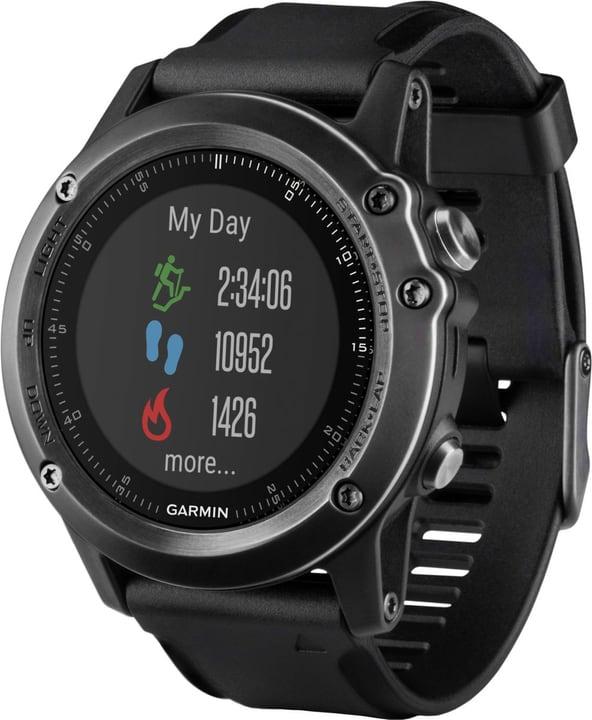 Fenix 3 HR Saphir Grau/Schwarz Smartwatch Garmin 798432200000 Bild Nr. 1