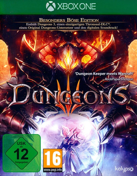 Xbox One - Dungeons 3 Box 785300129724 N. figura 1