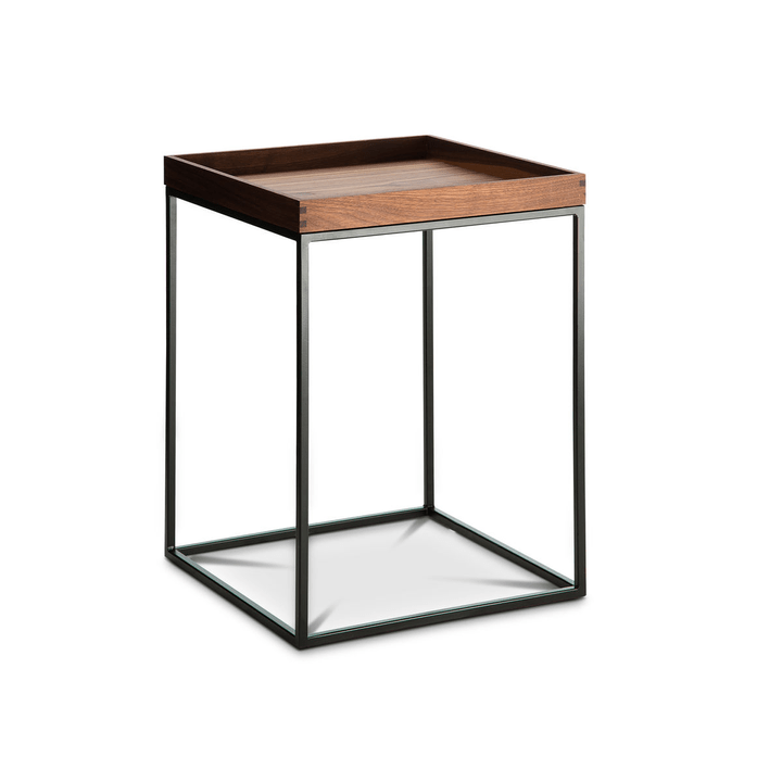 COFFEE table d'appoint 360975000000 Dimensions L: 40.0 cm x P: 40.0 cm x H: 54.0 cm Couleur Noyer Photo no. 1