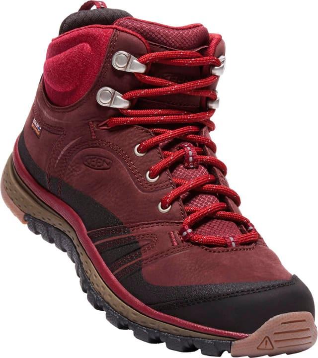 Terradora Leather Mid WP Chaussures de trekking pour femme Keen 460889439088 Couleur bordeaux Taille 39 Photo no. 1
