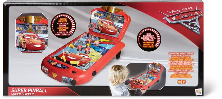 Disney Cars 3 Super Pinball 747444700000 Photo no. 1