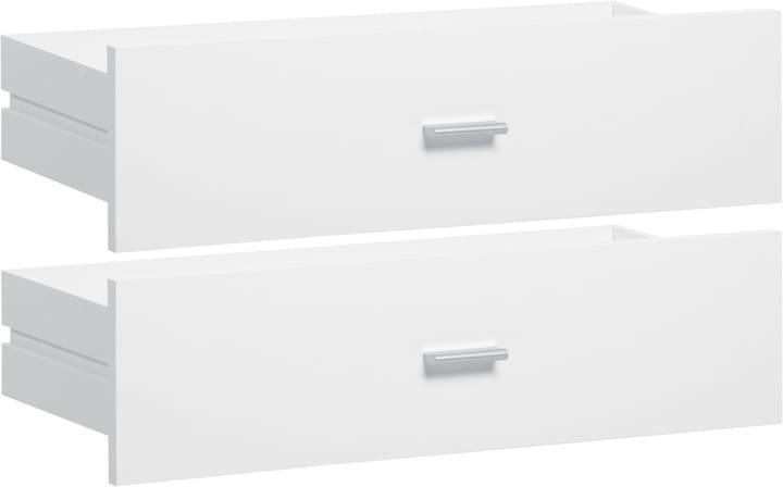 SAX Schubladen-Set breit weiss 407552200000 Bild Nr. 1