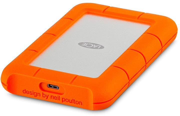 Rugged Mobile Storage USB - C 4TB Hard disk Esterno HDD Lacie 785300132381 N. figura 1