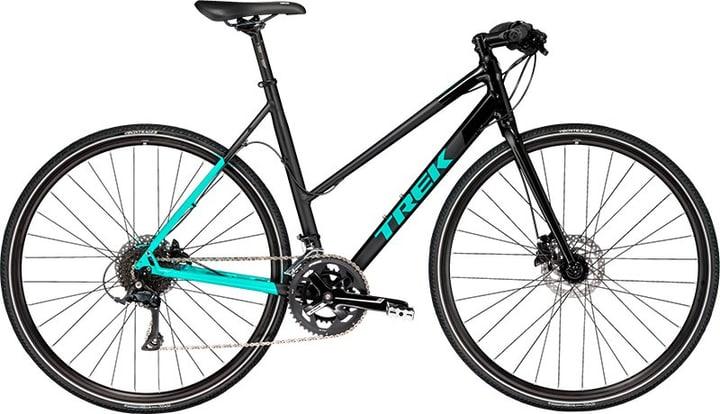 Zektor 3 Citybike Trek 463301305020 Farbe schwarz Rahmengrösse 50 Bild Nr. 1