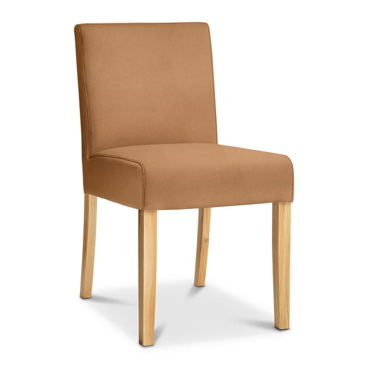 TWEED Chaise Sauvage 366009844903 Dimensions L: 48.0 cm x P: 62.0 cm x H: 84.0 cm Couleur Cognac Photo no. 1