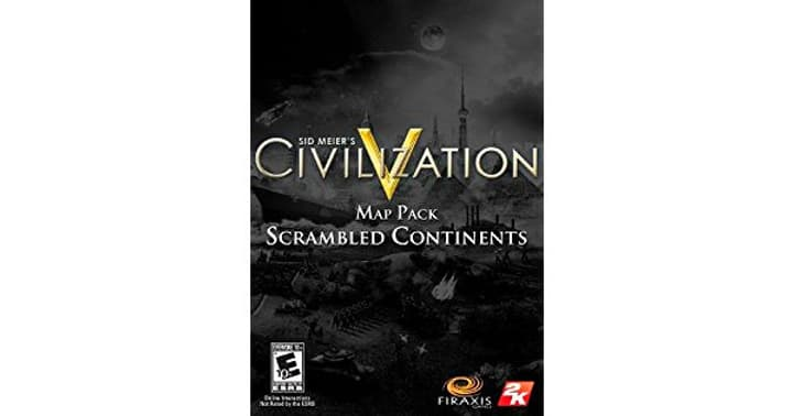 PC - Sid Meier's Civilization V: Scrambled Continents Map Pack Download (ESD) 785300133285 Photo no. 1