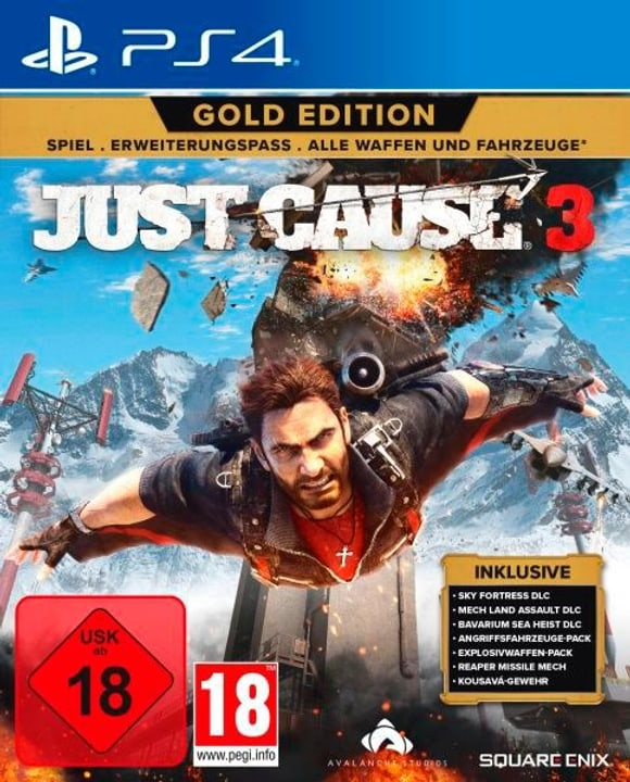 PS4 - Just Cause 3 Gold Edition Box 785300129832 Photo no. 1
