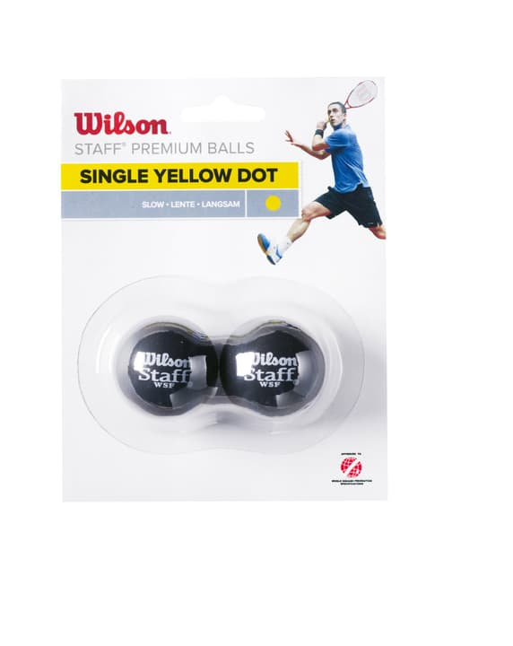 Wilson Squash Ball Gelb Balle de squash Wilson 491411200000 Photo no. 1
