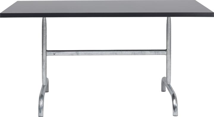 SÄNTIS Table pilante Schaffner 408009700084 Dimensions L: 140.0 cm x P: 80.0 cm x H: 72.0 cm Couleur Anthracite Photo no. 1