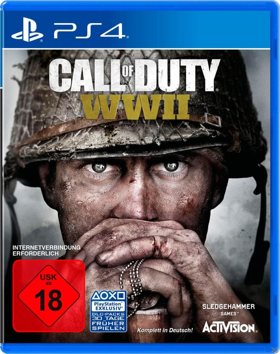PS4 - Call of Duty: WWII (D) Fisico (Box) 785300131832 Lingua Tedesco Piattaforma Sony PlayStation 4 N. figura 1
