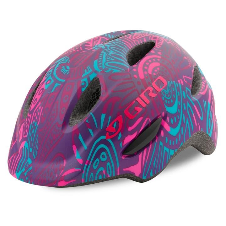 Scamp Casco da bicicletta per bambini Giro 462981861228 Colore melanzana Taglie 45-49 N. figura 1