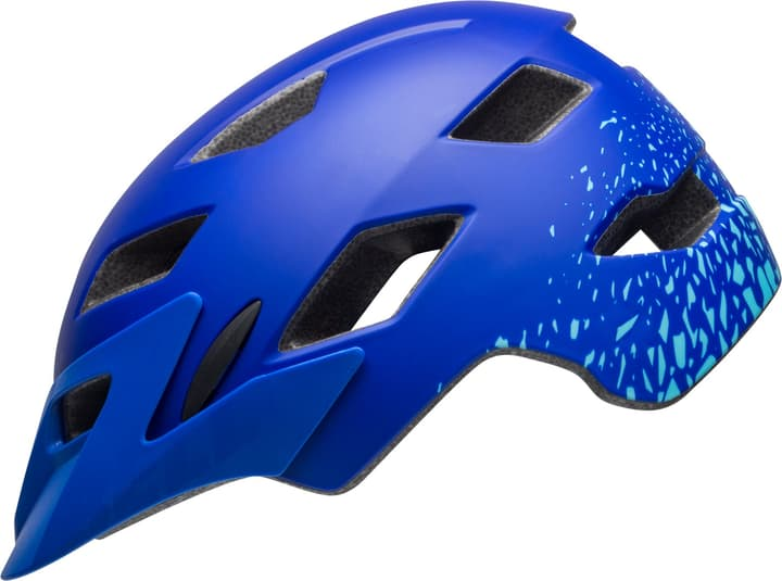 Sidetrack Child Casque de velo Bell 465011147440 Couleur bleu Taille 47-54 Photo no. 1