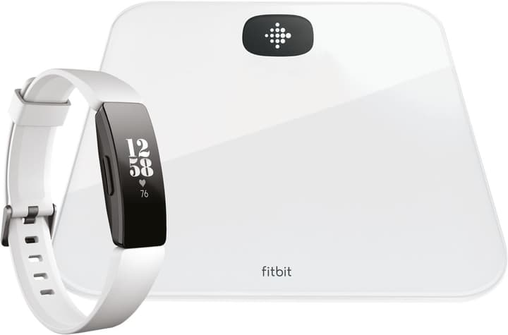 Aria Air & Inspire HR Bundle Blanc Smart Waage & Activity Tracker Fitbit 798721700000 Photo no. 1