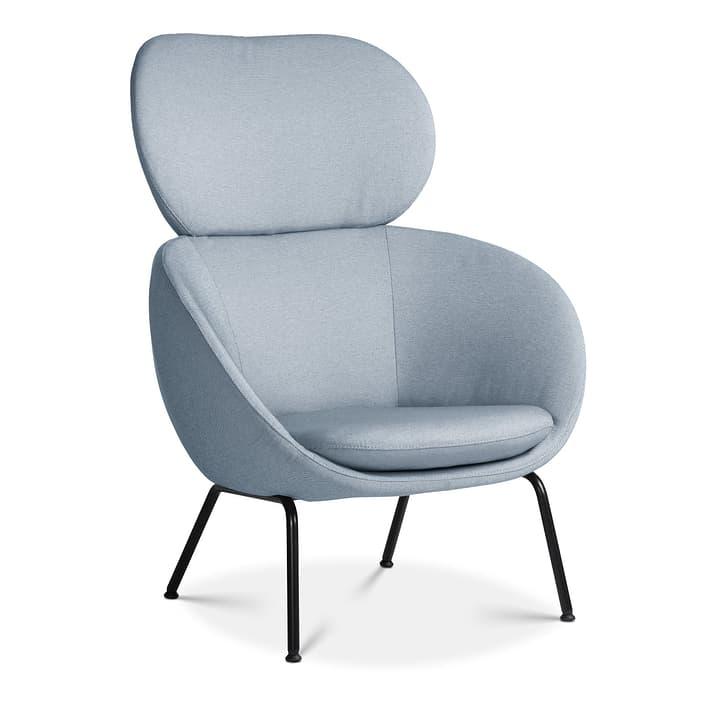 SAPO Poltrona Edition Interio 360441107041 Dimensioni L: 84.0 cm x P: 85.0 cm x A: 110.0 cm Colore Blu chiaro N. figura 1