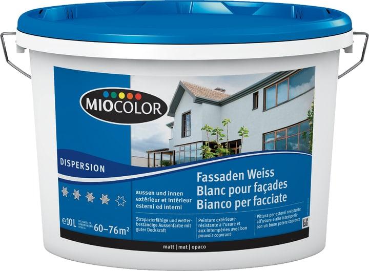 Dispersione per facciate Bianco 10 l Miocolor 660733900000 Colore Bianco Contenuto 10.0 l N. figura 1