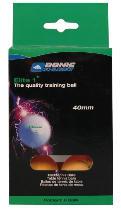 1* Elite 6er Tischtennis-Ball Schildkröt 491638500034 Farbe orange Grösse Einheitsgrösse Bild-Nr. 1