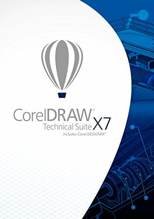 CorelDRAW Technical Suite X7 PC Digitale (ESD) Corel 785300133453 N. figura 1