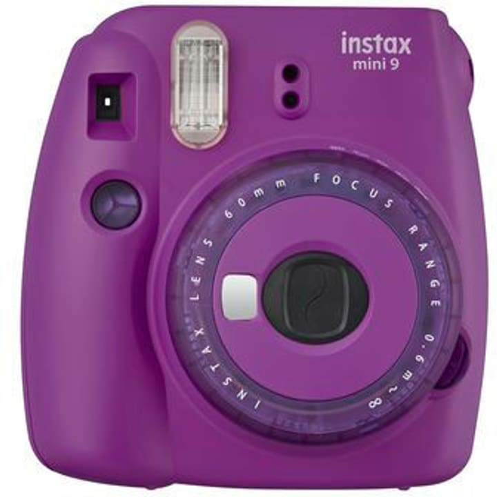 Instax Mini 9 Clear Purple Appareil photo instantané FUJIFILM 785300145650 Photo no. 1
