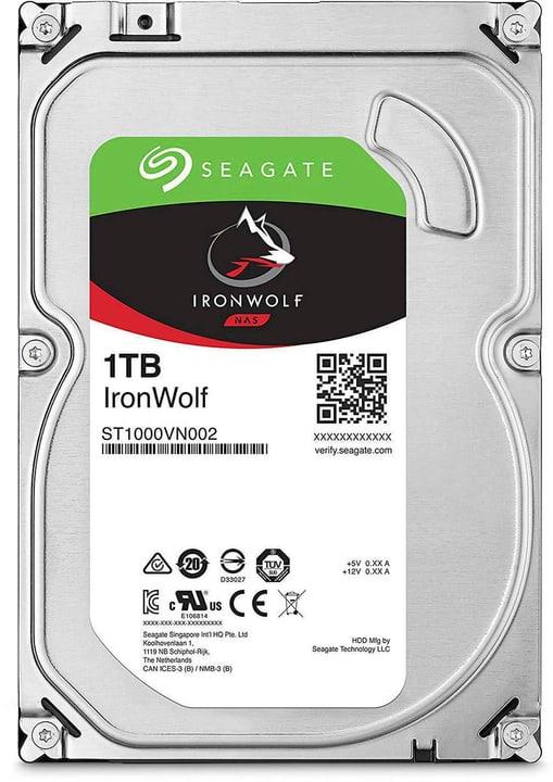 """IronWolf SATA 3.5"""" 1 TB Disque Dur Interne HDD Seagate 785300145839 Photo no. 1"""
