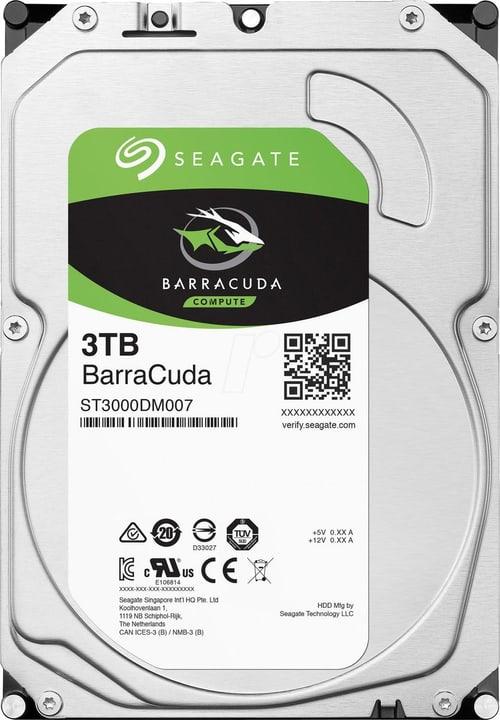 """BarraCuda SATA 3.5"""" 3 TB Disque Dur Interne HDD Seagate 785300145858 Photo no. 1"""
