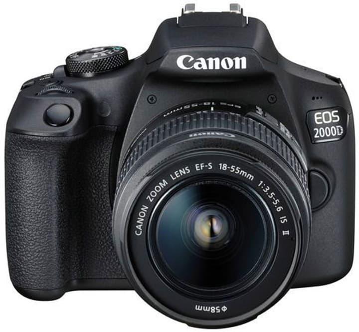 EOS 2000D EF-S 18-55mm IS - noir Canon 785300134592 Photo no. 1