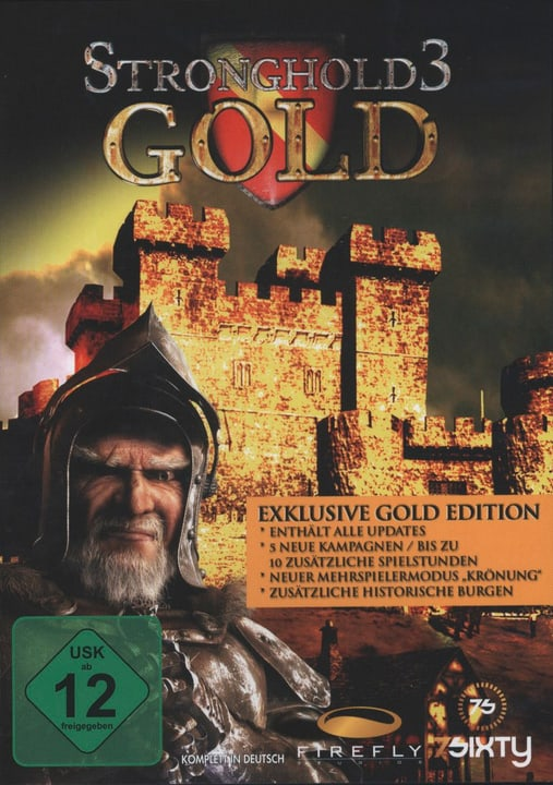 PC - Pyramide: Stronghold 3 - Gold Edition Physisch (Box) 785300121613 Bild Nr. 1