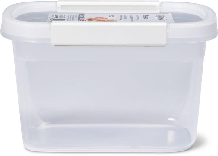BASIC Frischhaltedose 2.2L M-Topline 703728000003 Farbe Weiss Grösse B: 15.0 cm x T: 22.0 cm x H: 13.5 cm Bild Nr. 1
