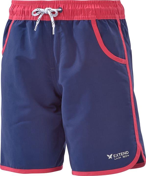 Short U.V.P. pour fille Extend 464523814043 Couleur bleu marine Taille 140 Photo no. 1