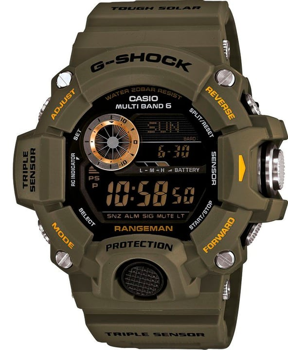 Casio GW-9400-3ER Montre vert Montre G-Shock 785300124002 Photo no. 1