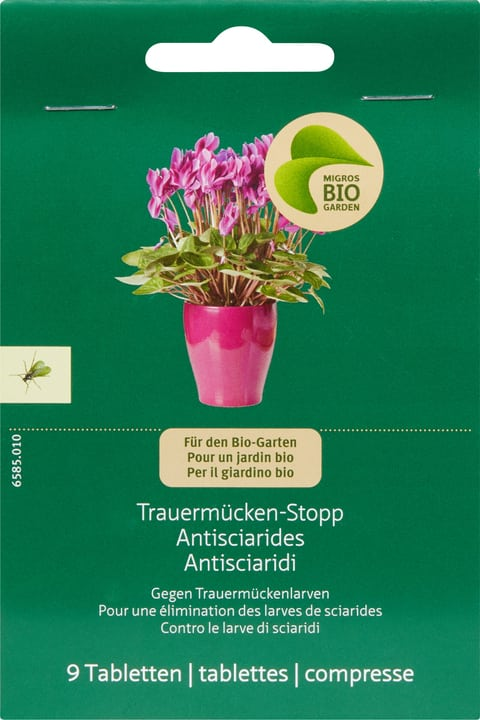 Trauermücken-Stopp Migros-Bio Garden 658501000000 Bild Nr. 1