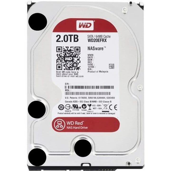Red 2TB NAS SATA HDD NAS Western Digital 785300124385 N. figura 1
