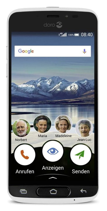 DORO 8040 16GB bianco Smartphone 785300133172 N. figura 1