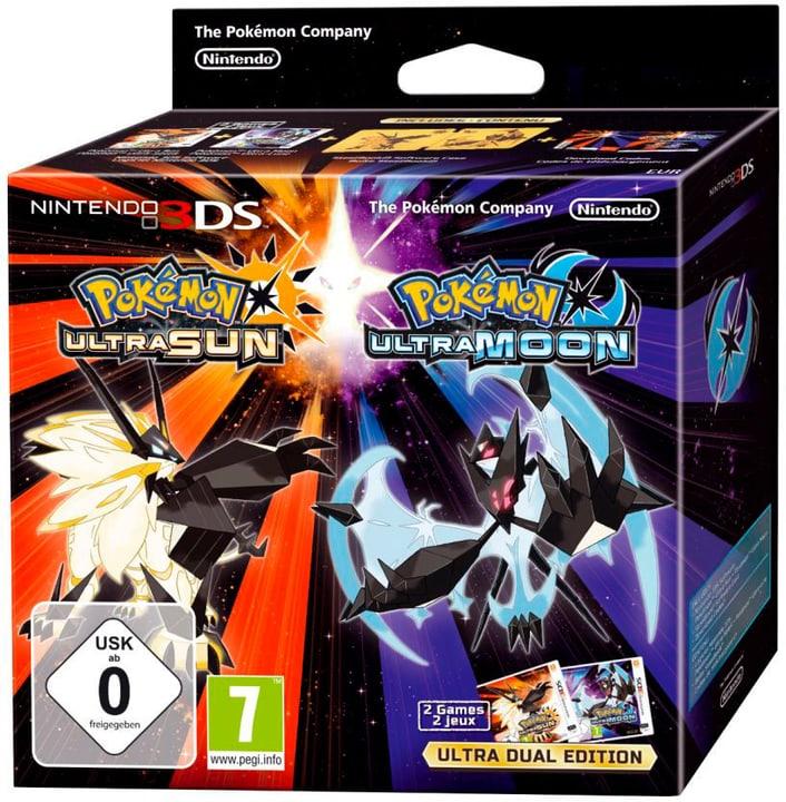 3DS - Pokémon Ultrasonne & Ultramond - Ultra Dual Edition 785300129027 N. figura 1