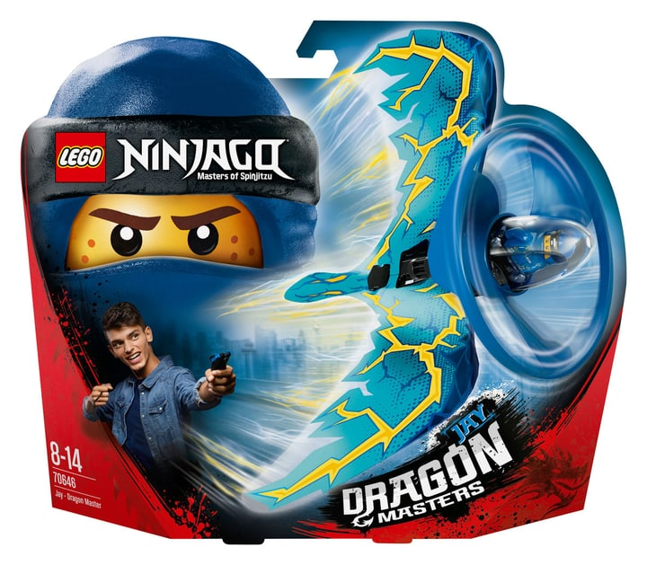 Lego Ninjago Jay - Le maître du dragon 70646 748881600000 Photo no. 1
