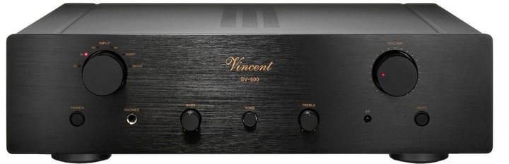 SV-500 - Noir Amplificateur intégré stéréo Vincent 785300122735 Photo no. 1
