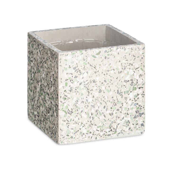 TERRAZZO Cache-pot 382107200000 Dimensions L: 15.0 cm x P: 15.0 cm x H: 15.0 cm Couleur Vert Photo no. 1